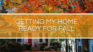 fall housecleaning