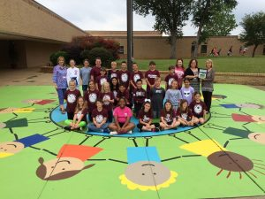 Higgins Elementary Student Council 2016 Campus Beautification